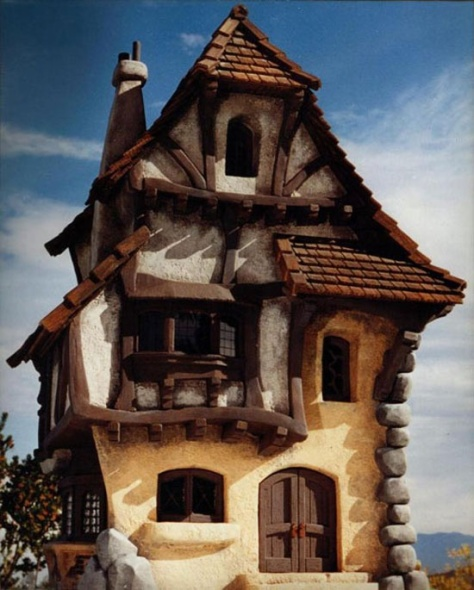 Bavarian Cottage Model of House - Collection Of Unique House...many more fairy tale themed houses