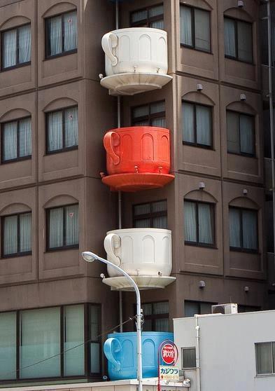 Teacup terrace, Tokyo Japan